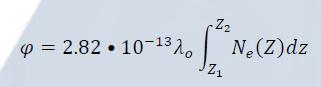 Phase shift equation