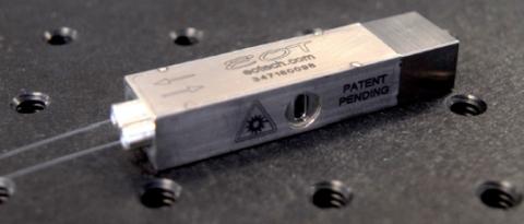 Fiber-to-fiber broadband isolator photo