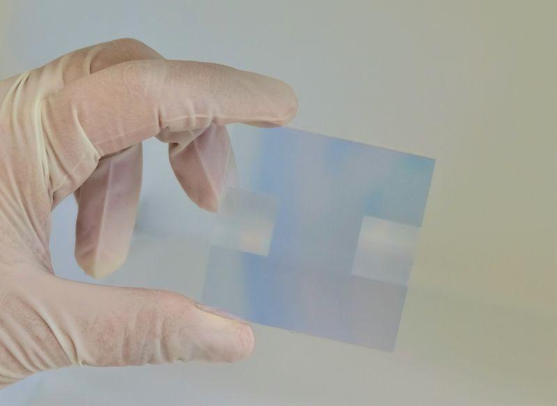 DLIP laser patterning photo