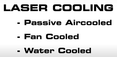 Laser cooling modes