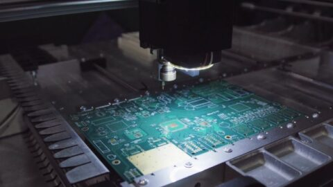 PCB production photo