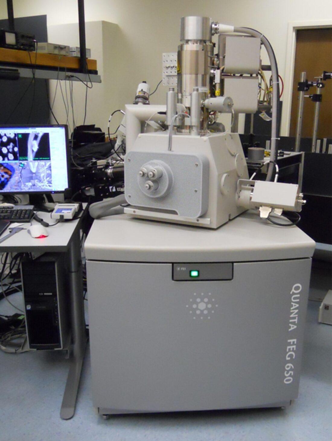 Photo of Quanta 650 FEG SEM on AVI-400