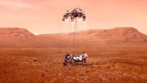 Image of Mars Landing