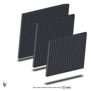 Image of microlens array