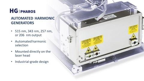 Photo of automated harmonic generator