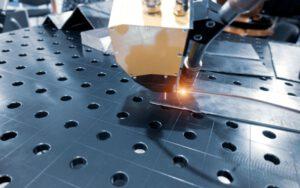 Photo of laser welding application